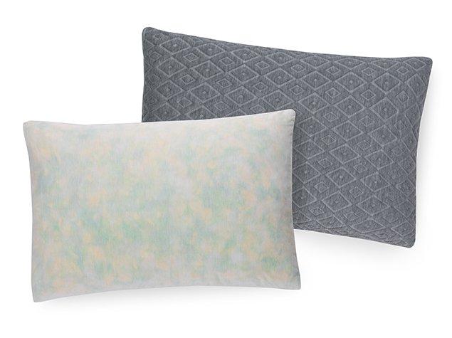 Premium Shredded Foam Pillow - Inside and Cover