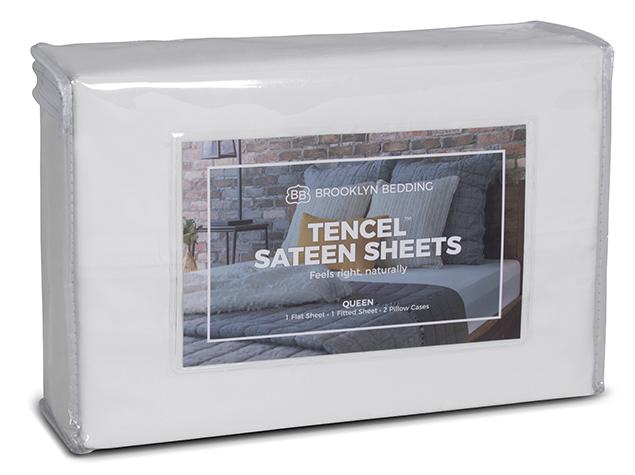 Tencel Sateen Sheets - Packaging