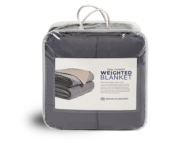 Weighted Blanket Packaging - Front