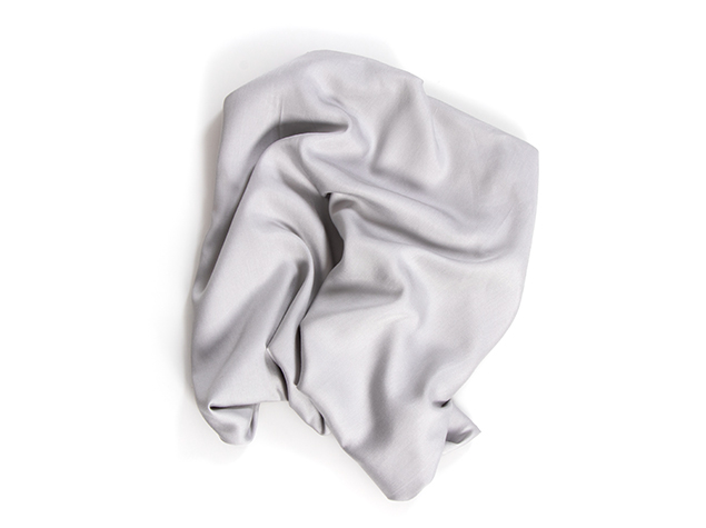 Bamboo Twill Sheets Collection - Silver Color