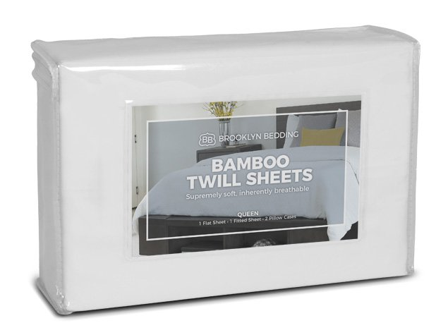 Bamboo Twill Sheets - Packaging