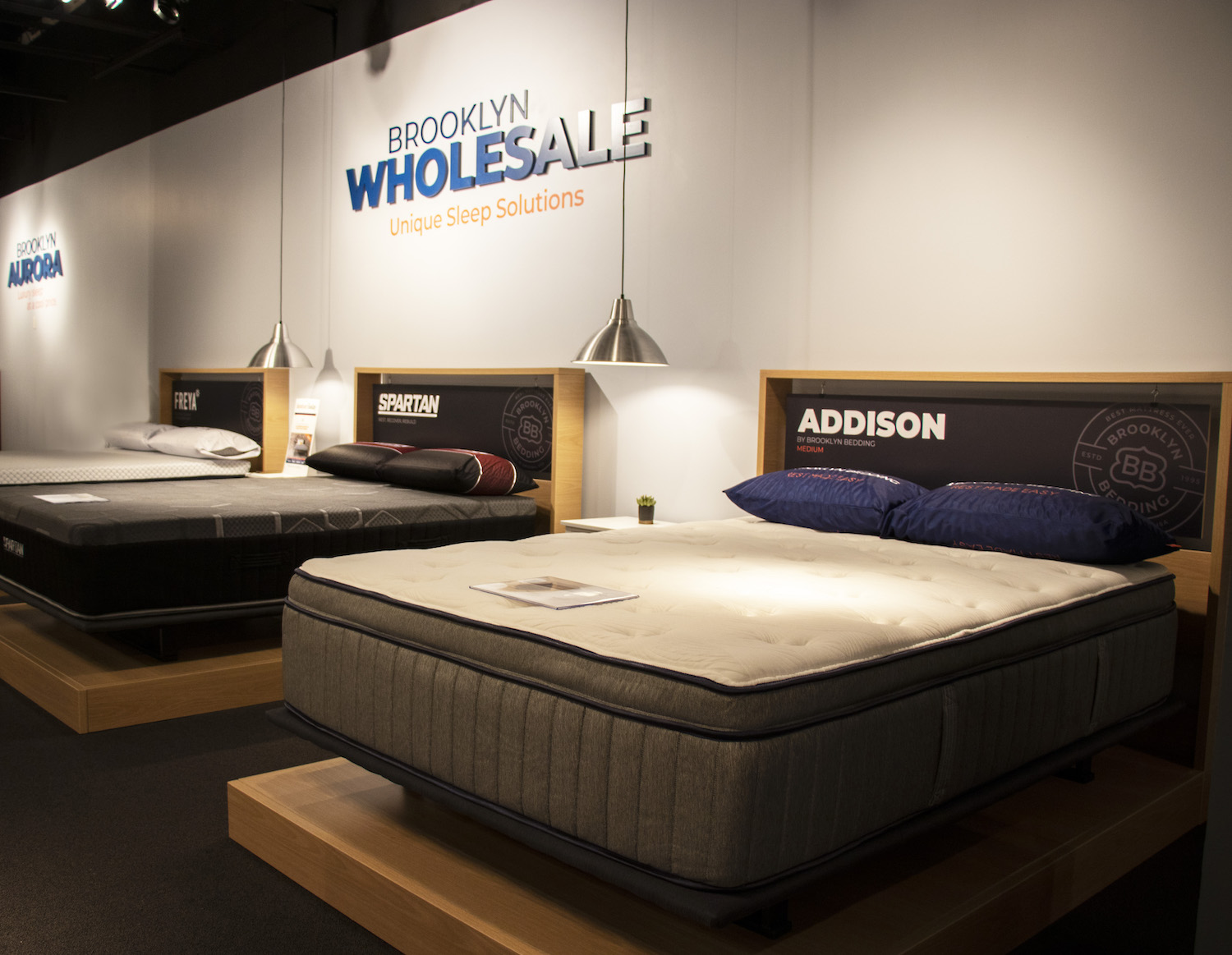 Astounding Brooklyn Bedding Announces New Permanent Showroom At Las Home Interior And Landscaping Ologienasavecom