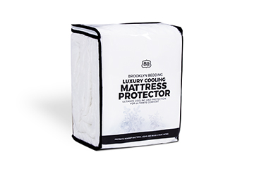 Shop Luxury Cooling Mattress Protector Today - Brooklyn Bedding