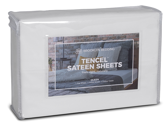 Tencel Sateen Sheets - Packaging