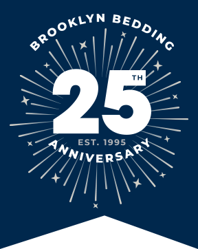 Brooklyn Bedding 25th Anniversary - Est. 1995