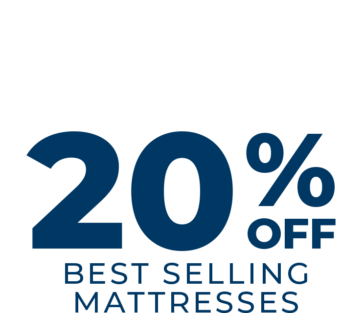 Summer Sale 20% Off Best-Selling Mattresses